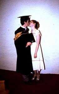 Christine Lindsay & hubby