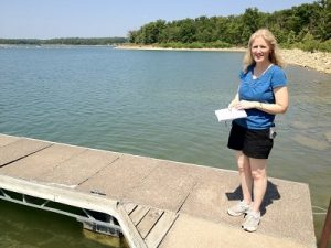 Kelly Irvin StocktonLakeResearchTrip