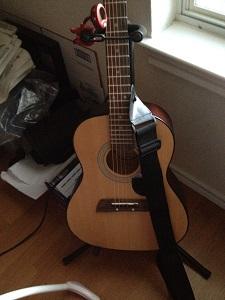 Kelly Irvin guitar