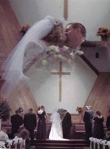 Allison Carter wedding collage
