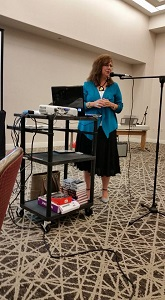 Shannon Taylor Vannatter speaking at Atlanta Christian Writers Conference