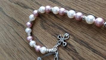 Cynthia L. Simmons overcomer bracelet small