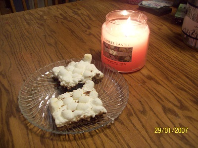 Laura V. Hilton Chocolate Marshmallow Brownies
