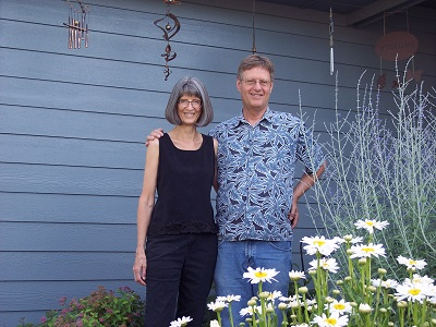 Becky Lyles and husband